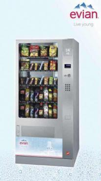 distributeur automatique de boissons fraiches snacks sn 48 ec